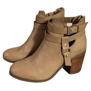 Steve Madden Leather Booties - Women's Size 10
